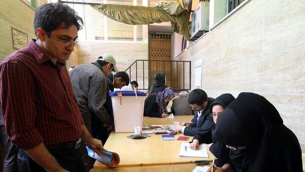 Парламентские выборы в Иране. Архивное фото - Sputnik Азербайджан