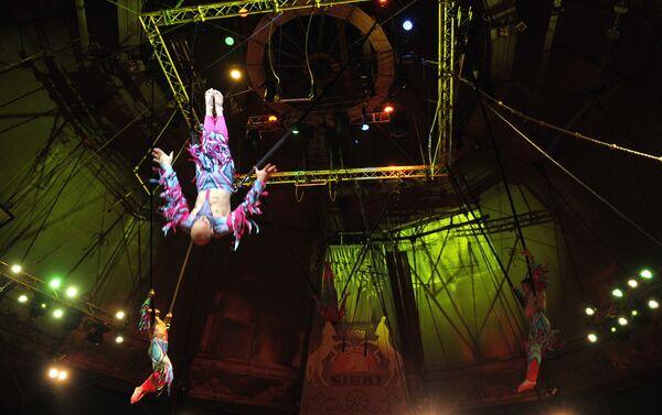 Рижский цирк — это единственный стационарный цирк в Прибалтике - Sputnik Азербайджан