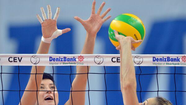 Игра в волейбол - Sputnik Azərbaycan