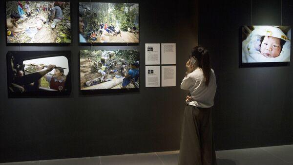 Работы на международном конкурсе фотожурналистики. Архивное фото - Sputnik Азербайджан