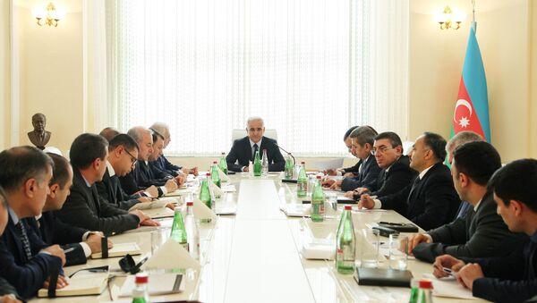 Заседание коллегии Министерства экономики АР - Sputnik Азербайджан
