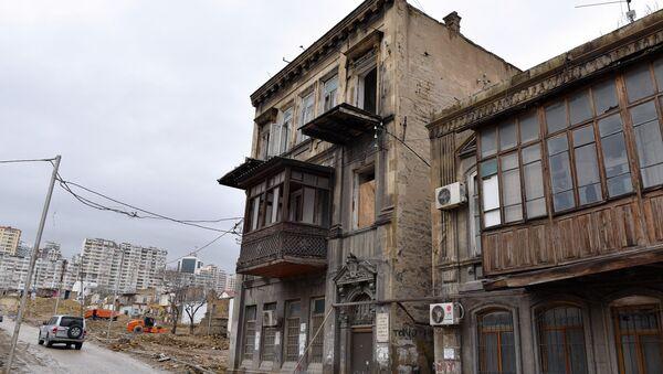 Abbas Mirzə Şərifzadənin yaşadığı ev - Sputnik Azərbaycan
