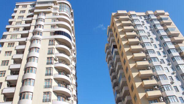 Многоэтажные жилые дома в Баку - Sputnik Азербайджан