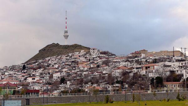 Облачная погода в Баку - Sputnik Azərbaycan