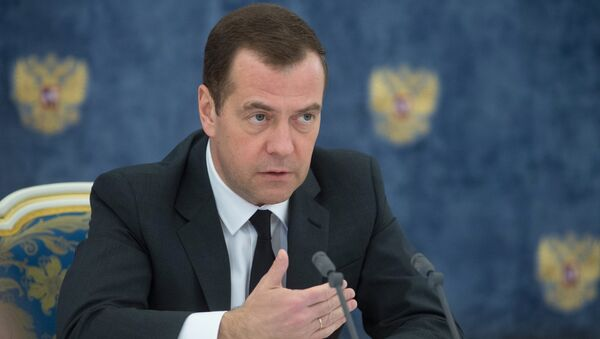Премьер-министр РФ Дмитрий Медведев - Sputnik Азербайджан