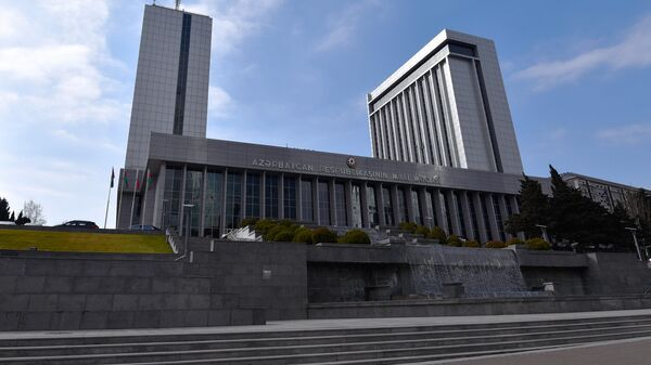 Здание парламента Азербайджанской Республики - Sputnik Azərbaycan