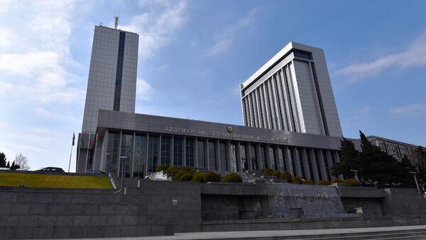 Здание парламента Азербайджанской Республики - Sputnik Азербайджан
