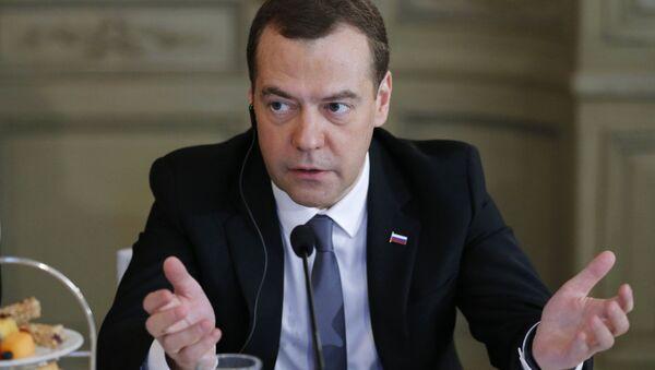 Премьер-министр РФ Д. Медведев принял участие в Мюнхенской конференции по безопасности - Sputnik Azərbaycan