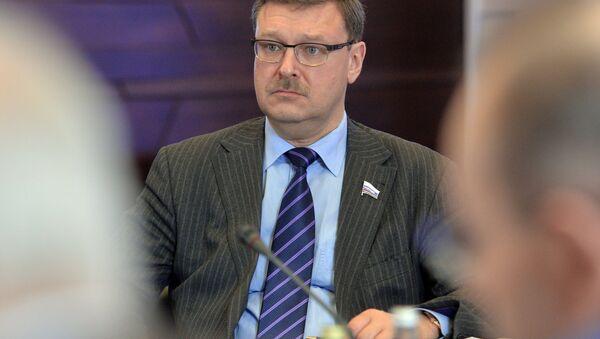 Константин Косачев, председатель комитета Совета Федерации РФ по международным делам - Sputnik Азербайджан