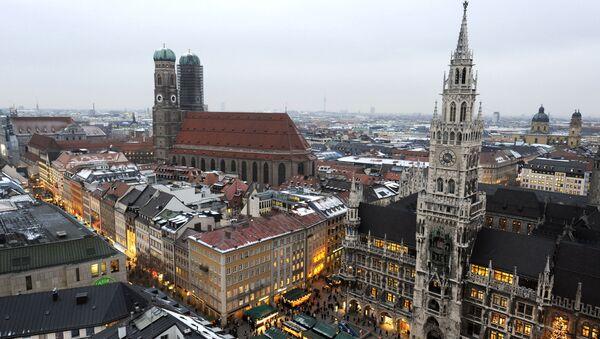 Зима в Мюнхене. Архивное фото - Sputnik Азербайджан