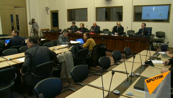 LIVE: Презентация российской вакцины от вируса Эбола в Женеве - Sputnik Азербайджан