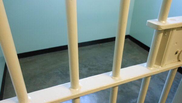 Тюремная решетка. Архивное фото - Sputnik Азербайджан