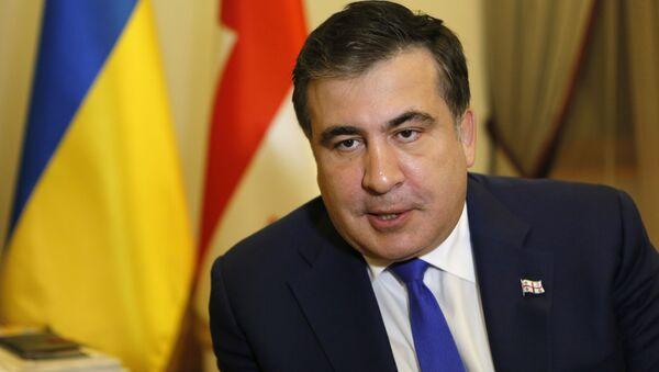 Михаил Саакашвили, председатель Одесской областной государственной администрации - Sputnik Азербайджан