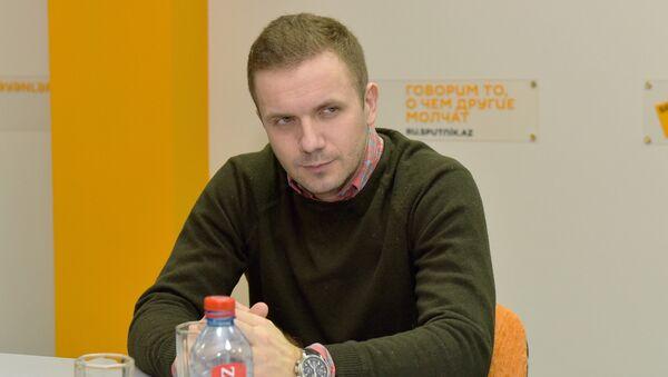 Станислав Притчин, российский политолог - Sputnik Азербайджан