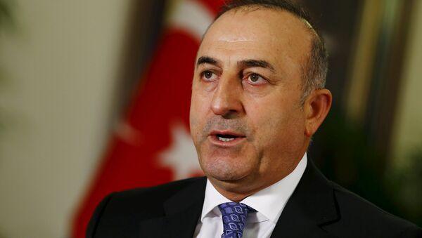 Мовлут Чавушоглу, министр иностранных дел Турции - Sputnik Azərbaycan