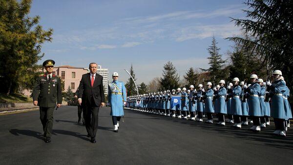 Prezident və Baş Qərargah rəisi - Sputnik Azərbaycan