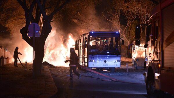 Ankara patlama - Sputnik Azərbaycan