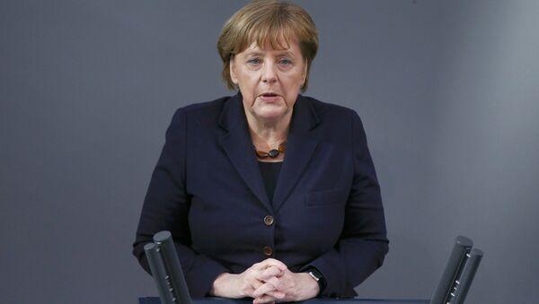 Ангела Меркель, канцлер Германии, архивное фото - Sputnik Азербайджан