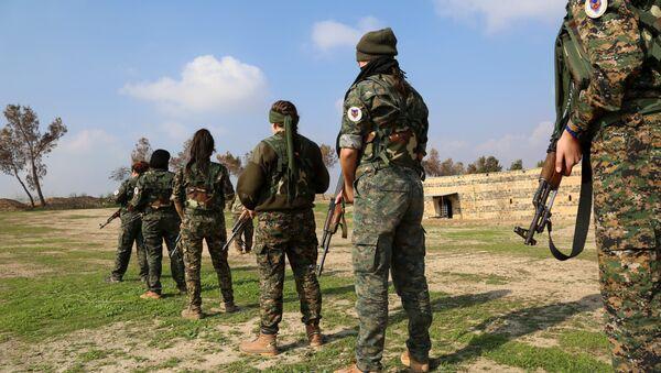 Боевики YPG - Sputnik Азербайджан