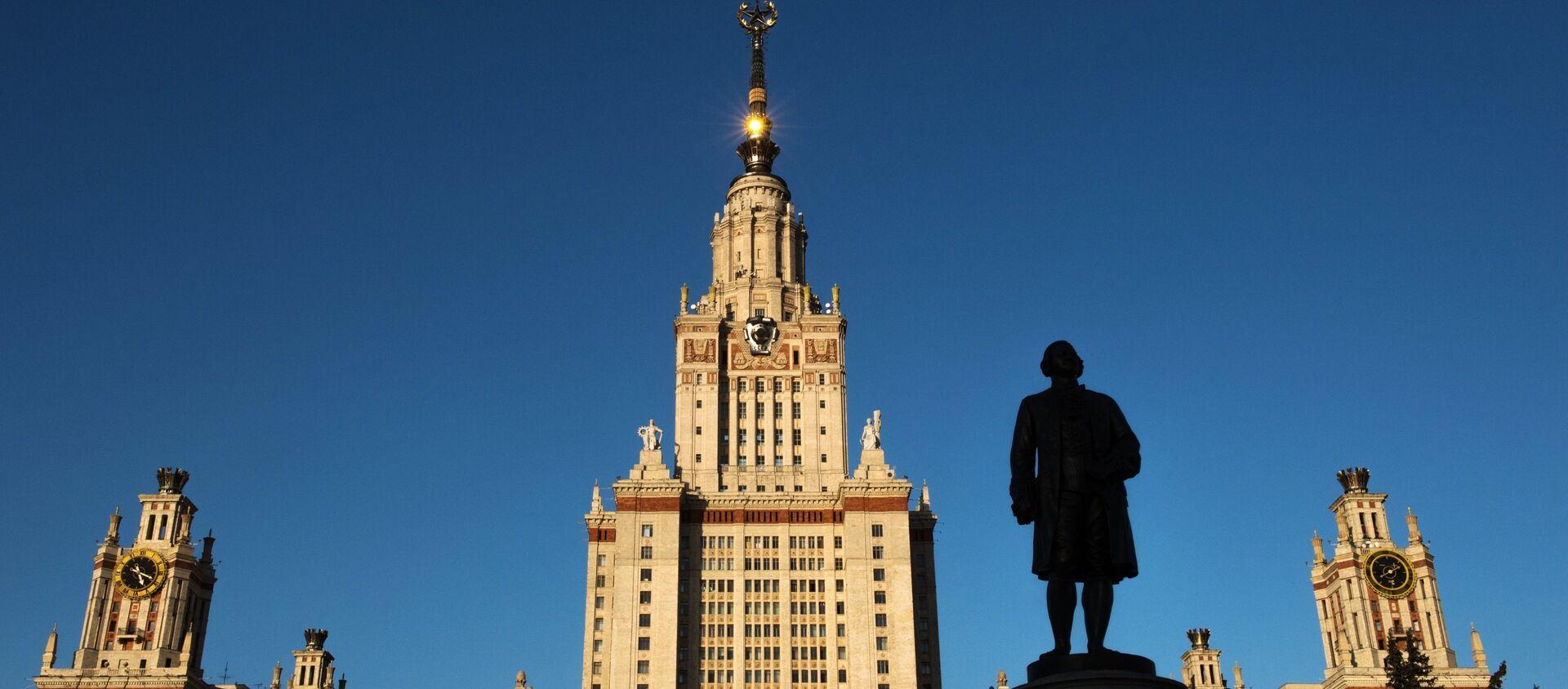 Главное здание Московского государственного университета - Sputnik Азербайджан, 1920, 27.07.2020