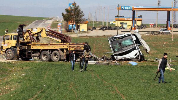 Теракт в Диярбакыре. Архивное фото - Sputnik Азербайджан