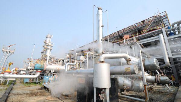 Газоперерабатывающий завод. Архивное фото - Sputnik Азербайджан