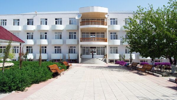 Санаторий Чудесный Нафталан - Sputnik Азербайджан