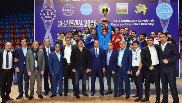 Kikboksinq üzrə Azərbaycan Çempionatı - Sputnik Azərbaycan