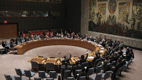 Заседание Совета безопасности ООН. Архивное фото - Sputnik Азербайджан