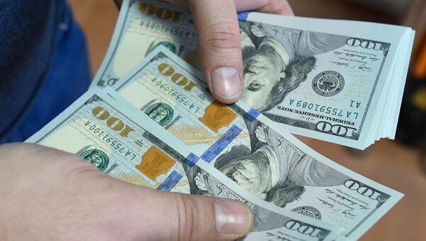 Доллары США - Sputnik Azərbaycan