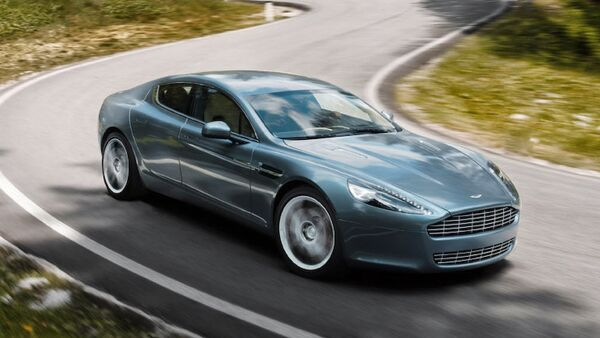 Aston Martin elektromobil - Sputnik Azərbaycan