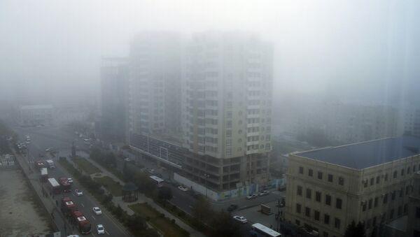 Туман в Баку. Архивное фото - Sputnik Азербайджан