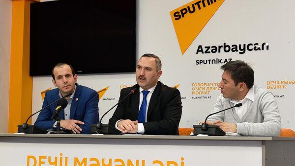 Пресс-конференция на тему Миграционные процессы в Азербайджане: итоги 2015 года и тенденции 2016 года - Sputnik Азербайджан