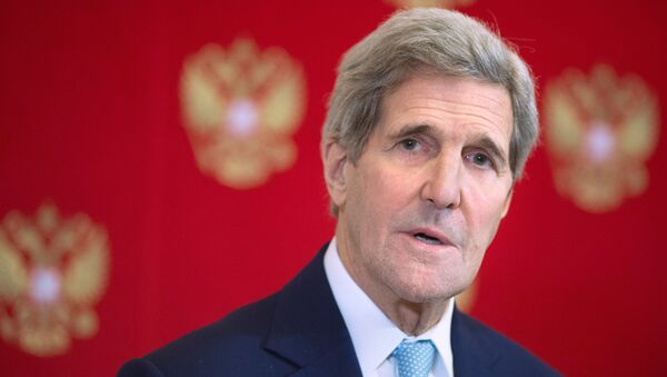 Госсекретарь США Джон Керри. Архивное фото - Sputnik Азербайджан