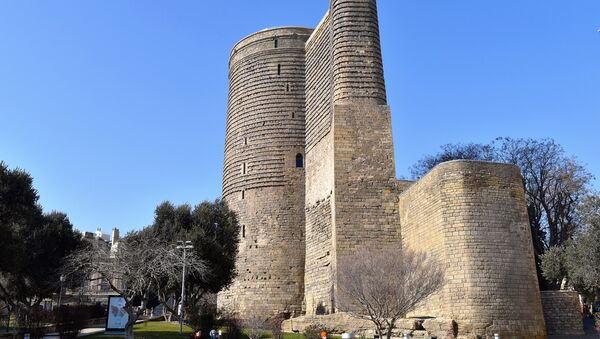 Девичья башня (Гыз Галасы) – символ Баку - Sputnik Азербайджан