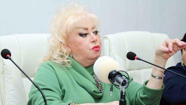 Народная артистка Ильхама Гулиева. Архивное фото - Sputnik Азербайджан