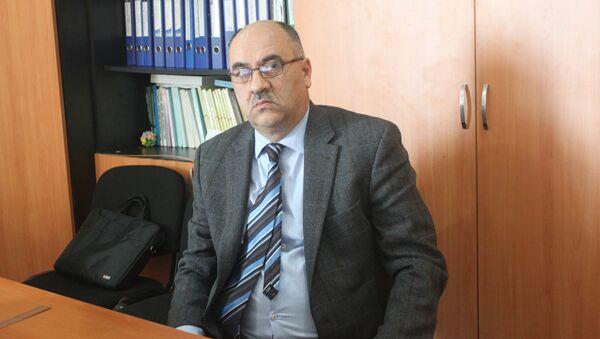 Əlimusa İbrahimov, BDU-nun siyasi elmlər üzrə fəlsəfə doktoru - Sputnik Azərbaycan