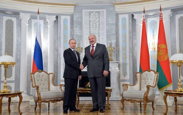 Заседание Высшего Государственного Совета Союзного государства России и Беларуси - Sputnik Азербайджан