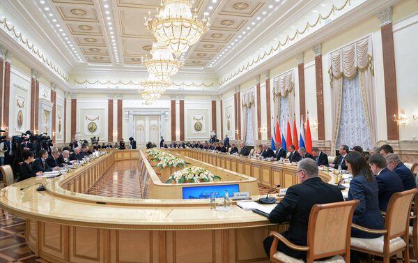 Заседание Высшего Государственного Совета Союзного государства - Sputnik Азербайджан