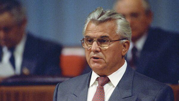 Ukraynanın keçmiş prezidenti Leonid Kravçuk - Sputnik Azərbaycan