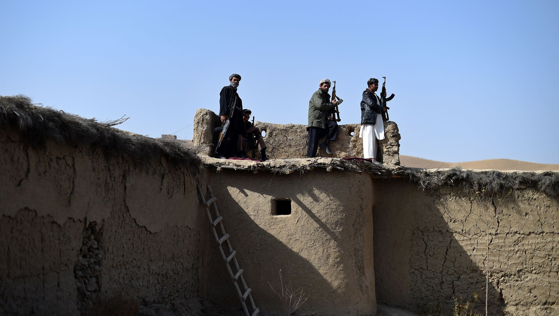 Боевики движения Талибан. Архивное фото - Sputnik Азербайджан, 1920, 11.08.2021