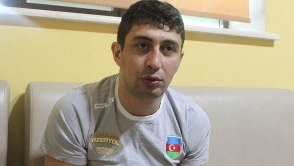 Тренер команды Azəryol Зия Раджабов - Sputnik Азербайджан