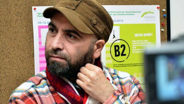 Seymur Baycan, yazar - Sputnik Azərbaycan