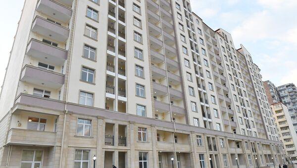 Жилой дом, построенный для инвалидов по зрению. Архивное фото - Sputnik Азербайджан