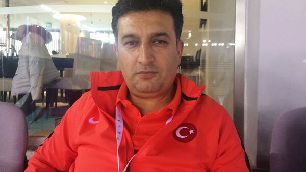 Murat Eskici, Türkiyənin Milli Gimnastika Yığmasının texniki rəhbəri - Sputnik Azərbaycan