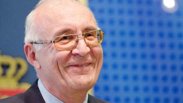 Зураб Абашидзе, специальный представитель по вопросам взаимоотношений с Россией. Архивное фото - Sputnik Азербайджан
