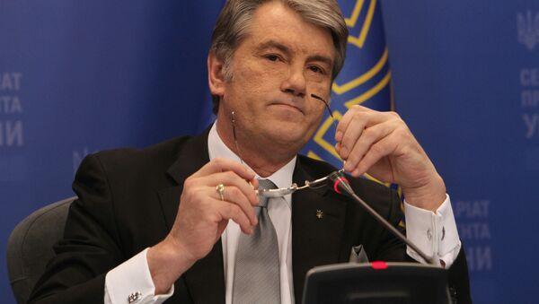 Ukraynanın keçmiş prezidenti Viktor Yuşenko - Sputnik Azərbaycan