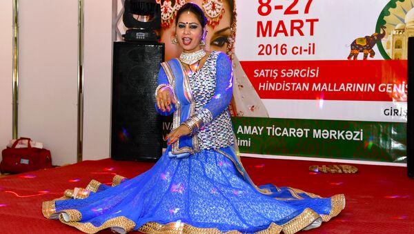 Индийская выставка-ярмарка в Баку - Sputnik Азербайджан