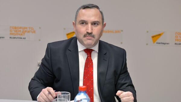 Азер Аллахверанов, председатель общественного объединения Həyat - Sputnik Азербайджан