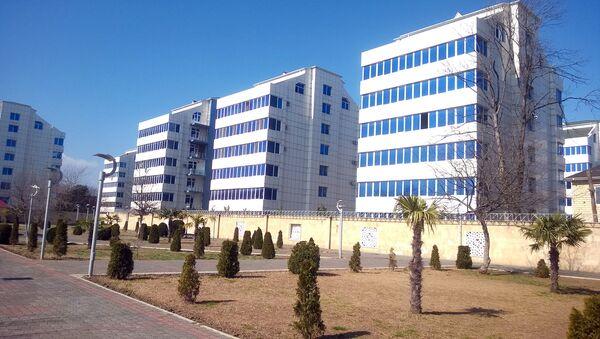 Yeni binada mənzillər - Sputnik Azərbaycan